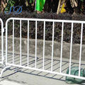 Galvanized Fence Crowd Control Barrier Gate