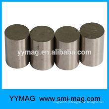 Ímã profissional de alta temperatura dos cilindros Sinter Smco material magnético