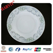 Heat-resistant Decorative Opal Glassware Soup Plate