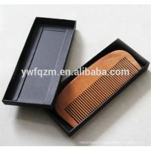 pente de barba de madeira de bolso personalizado venda quente