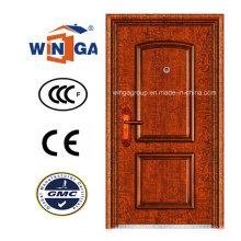 Porte de cuivre métallique en acier inoxydable de sécurité extérieure antidérapante (W-ST-03)
