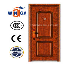 Sunproof Classic Exterior Security Metal Steel Copper Door (W-ST-03)