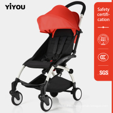 Single Front Wheel Steel Tube Baby Stroller