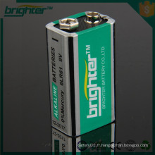 9V alu Jacket Battery 1PC / B
