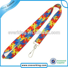Fashion Cheap Custom Printed Polyester Neck Lanyards