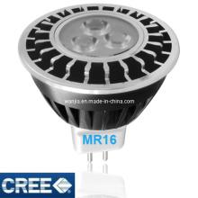 3.6W LED MR16 Spotlight Bulb in Enclosed Fixture