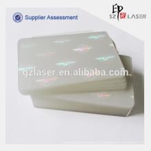 Hologramm-transparente Beutel für Schulstudenten-ID-Karte
