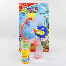 Shark Shape Electric Flash and Music Bubble Gun