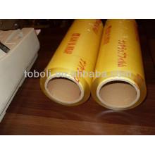 plastic pvc cling film, soft pvc cling film, oem pvc cling film