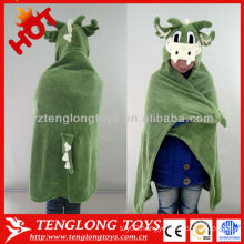 Party supply wholesale soft dragon animal plush clothes
