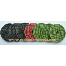 diamond polishing pads, buffing pads, polish pads