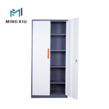 China Steel Office Furniture Iron Filing Cabinet with 2 Door