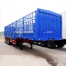 Китай Производство Гусиная Забор Груза Транспортной Коль Трейлер Semi