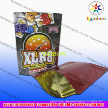Updated Stand Up Ziplock Aluminum Foil Pouch Bag For Packaging