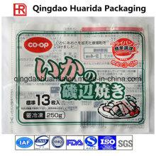 Emballage de nourriture congelée en plastique d'emballage de nourriture de prix usine