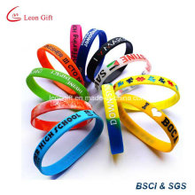 Custom Silicone Bracelet for Promotion