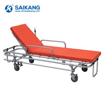 SKB039(A) Cheap Emergency Aluminum Ambulance Stretcher Trolley