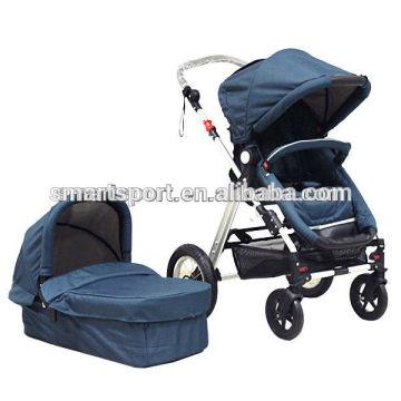 Carrinhos de bebê estilo europeu 3 em 1