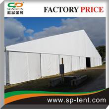50m wide Tube tent aluminum frame PVC fabric waterproof used permantly