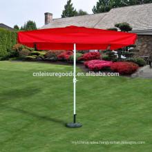Metal outdoor market advertising umbrella