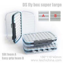 Palstic Fly Box Super Large avec mousse à fente