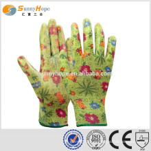 SUNNYHOPE guantes industriales revestidos de goma 13gauge
