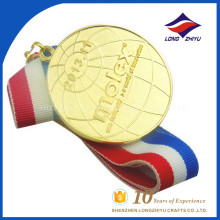 LZY Economical company custom logo gold medal