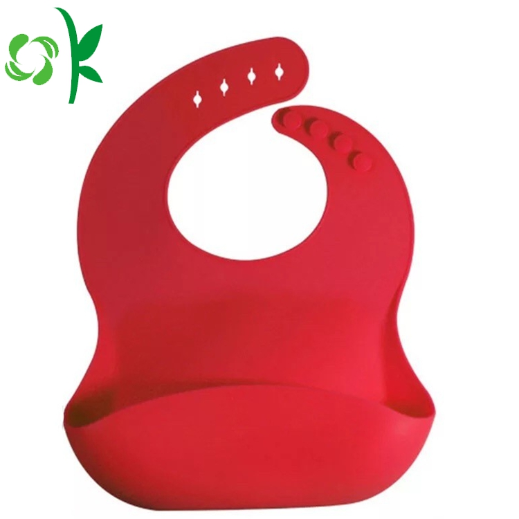 Double Color Silicone Bibs