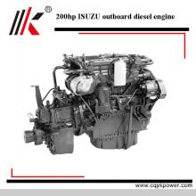 Original qualidade diesel 200 hp motor de popa 4 tempos barco motor