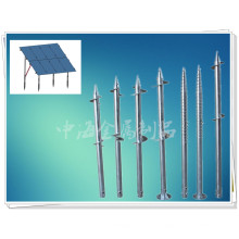 New Arrivel Czzh Ground Screws for Solar Mounting