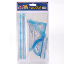 Clear Plastic Ruler Set