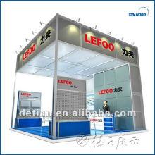 2013 stands de exposiciones de alquiler en Shanghai, China 6 * 6