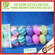 Huevo de Pascua de plástico decorativo