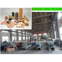 recycled plastic rice straw wood production machinery WPC machine