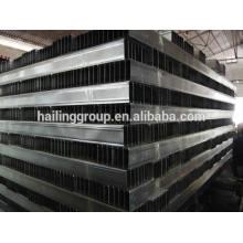 canal de acero en forma de C galvanizado para pared seca