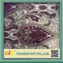 Tecido para estofos para padrões personalizados de capa de sofá