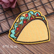 cute cartoon fruits embroidery patch baby kids clothing