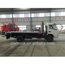 2013 ventas más altas Dongfeng DLK 4 toneladas de camiones desguace, 4x2 camión wrecker