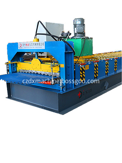 DIXIN corrugated sheet roll forming machine price