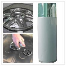 Acryl Aerosol Edelstahl Farbe Spray Paint, Edelstahl Beschichtung Farbe für Auto und Industrie (AK-PC2001)