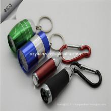 Porte-clés à LED pour la lampe de poche à gros