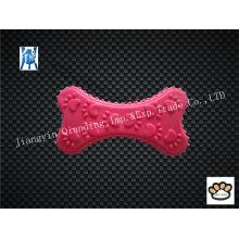 High Quality Pet Bite Toys TPR Colorful Bone Shape