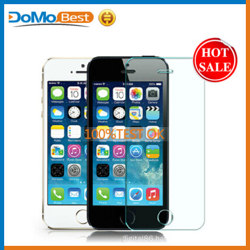 Cheapest price and best quality Screen Protector for Iphone 5g, tempered glass for iphone 5c, screen protector for iphone 5s