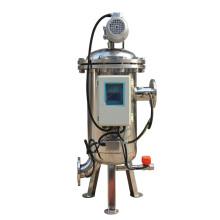 Filtro de auto limpieza con aspiración de agua y cepillo para filtro grueso