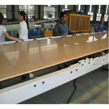 Easy Operation Machine PVC WPC Skinning Foamed Board Extrusion Line