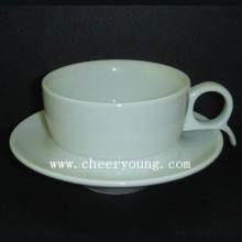 Tasse à expresso en porcelaine et sa soucoupe (CY-P527)