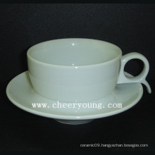Porcelain Espresso Cup and Saucer (CY-P527)