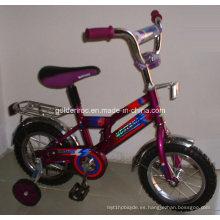 """Bicicleta de acero para niños con marco de 12 """"(BR1205)"""
