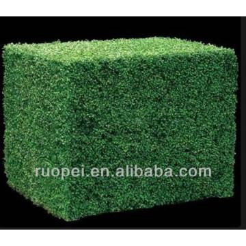cobertura de buxo artificial decorada interior e exterior