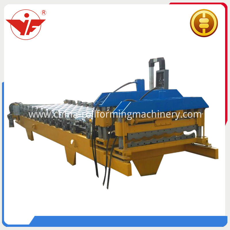 Eur Style Glazed Roll Forming Machine